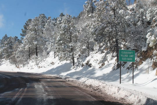 Highway 82 is closed from Alamogordo to Cloudcroft due to severe weather conditions.