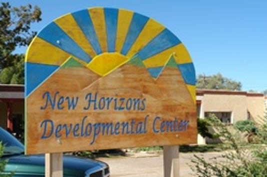New Horizons sign