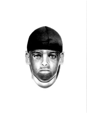 Police sketch shows person wanted in connection an indecent exposure case in the area of Power and Shiawassee roads.