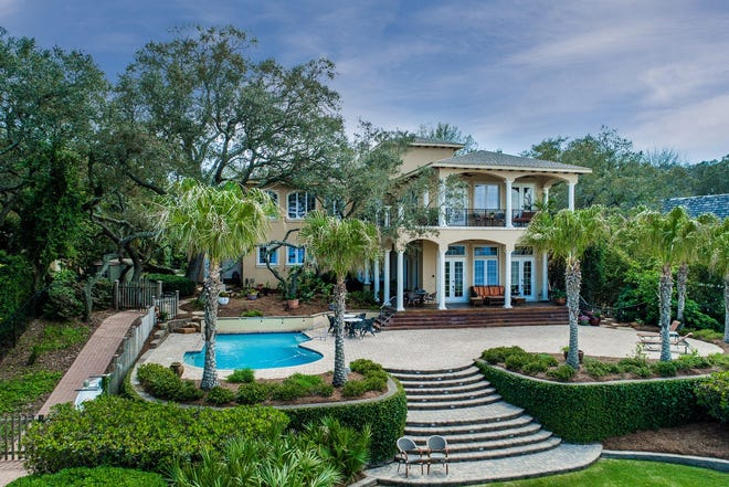 This spacious waterfront mansion on North Sunset Boulevard in Gulf Breeze was the most expensive home sold in Santa Rosa County in 2018. It sold for $2 million in June. It was listed by Sherlyn Waghalter, broker/owner of REMAX on the Coast. 850-449-4242, DiscoverNorthwestFlorida.com