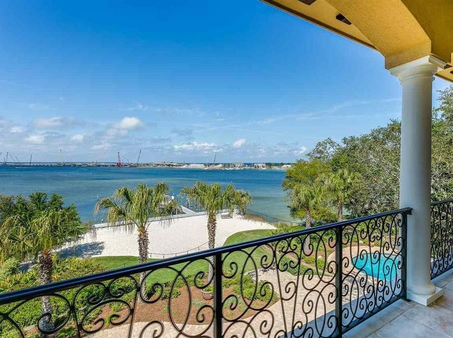 This spacious waterfront mansion on N. Sunset Blvd in Gulf Breeze was the most expensive home sold in Santa Rosa County in 2018. It sold for $2,000,000 in June. It was listed by Sherlyn Waghalter, Broker/Owner of REMAX on the Coast. 850-449-4242, DiscoverNorthwestFlorida.com