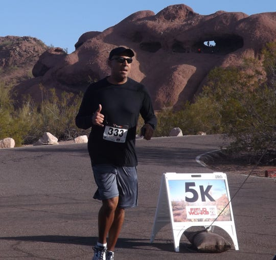 The Resolution Run 5K lets participants get a jump on their New Year's resolutions by being active.