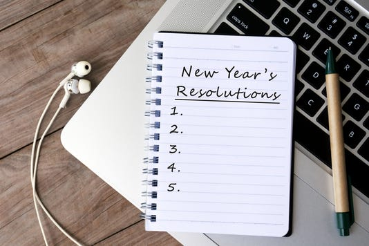 new year's resolutions technology