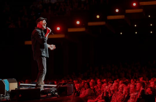 """Collin Raye promotes """"25 Years, 25 Hits"""" with a performance at the Grand Ole Opry on May 15, 2018."""