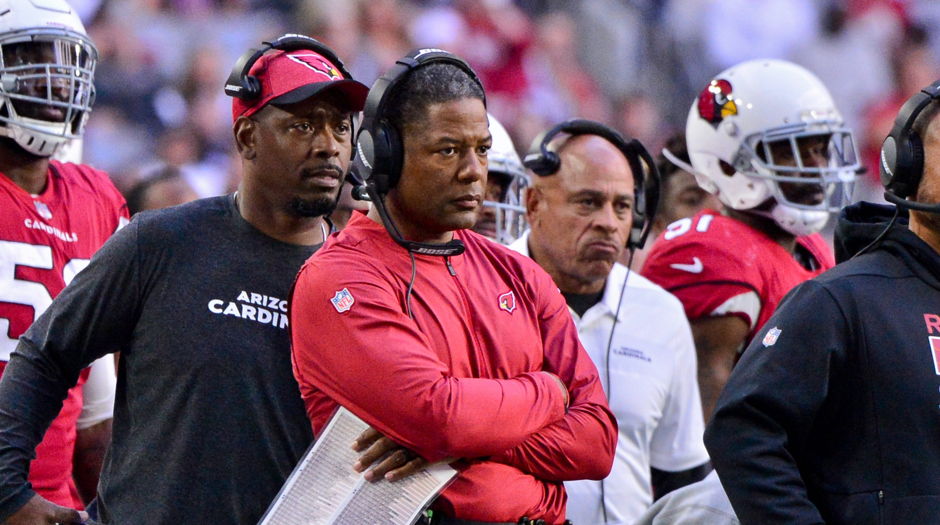a788241f NFL coach hot seat rankings: Steve Wilks fired by Arizona Cardinals?