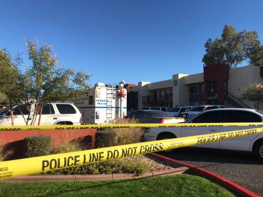 Phoenix police shot a suspect Friday
