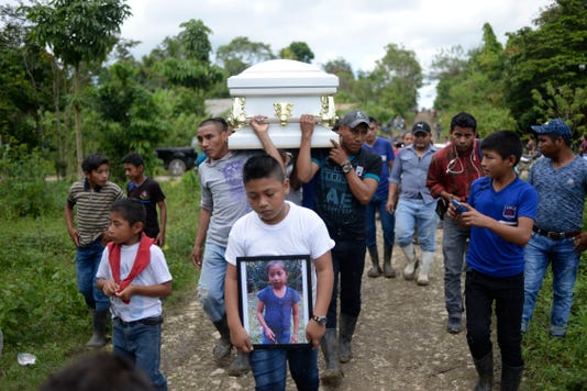 Topshot Guatemala Us Migration Girl Death