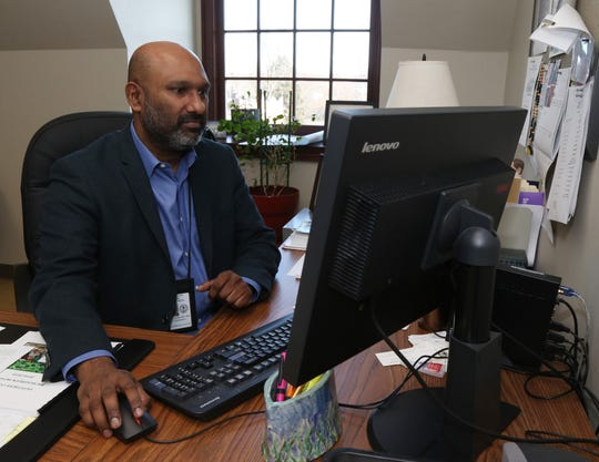 Dr. Anil Vaidian commissioner of Behavioral and Community Health at his office in the City of Poughkeepsie on December 27, 2018.