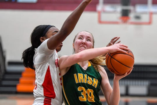 Susquehannock faces York Catholic in the Central York girls' basketball tournament, Thursday, December 27, 2018.