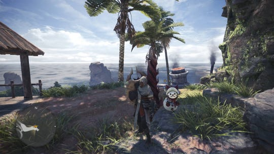 Get layered armor of Assassin's Creed's Bayek in the Silent, Deadly and Fierce event quest in Monster Hunter World.