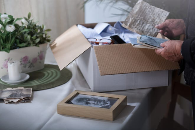 Sorting through decades worth of household possessions takes time. Adult children should be prepared for that when they offer to help their parents declutter or downsize.