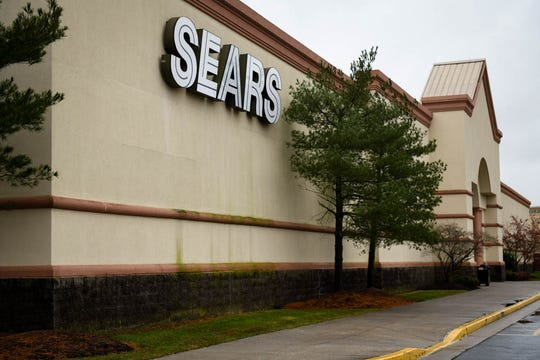 The Sears store at The Centre at Salisbury on Friday morning, Dec 28, 2018.