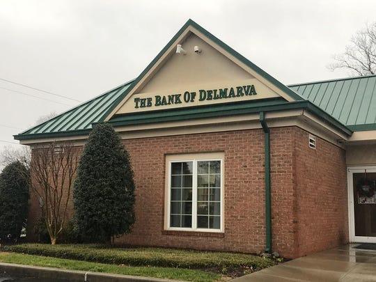 The Bank of Delmarva on Nanticoke Road in Salisbury was robbed on Friday, Dec. 28, 2018.
