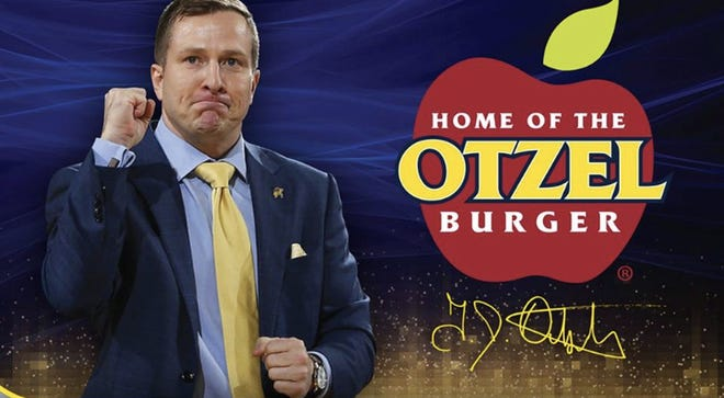 "About 1,500 ""Otzel-burgers,"" named after South Dakota State men's basketball head coach T.J. Otzelberger, have been sold at South Dakota Applebee's. The campaign raises money for Boys and Girls Clubs in eastern South Dakota."