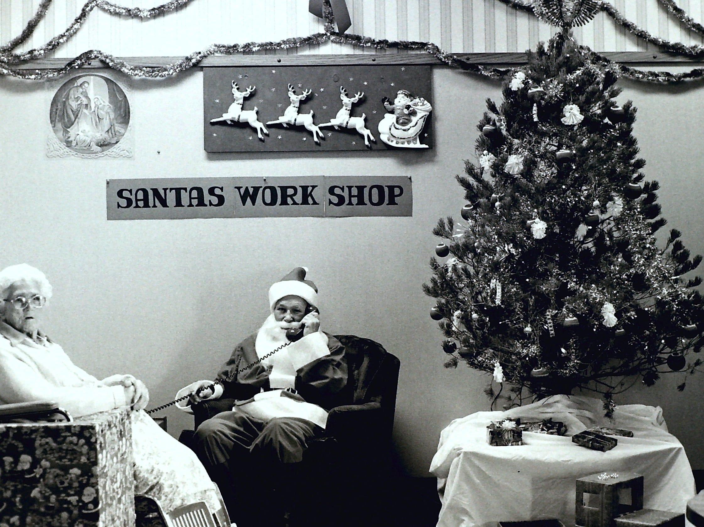 St. George Care Center Holiday Hotline circa 1985.