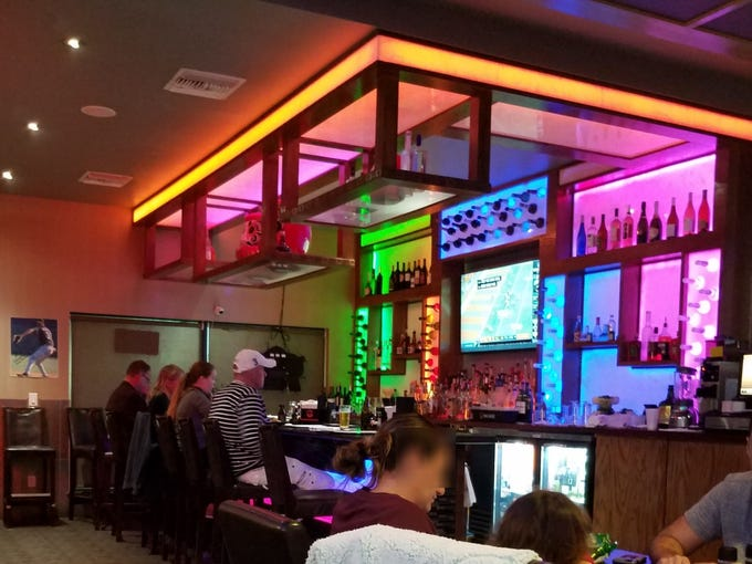 Inside Fujiyama Japanese Steakhouse & Sushi Lounge at 2050 S.E. Federal Highway in Stuart.