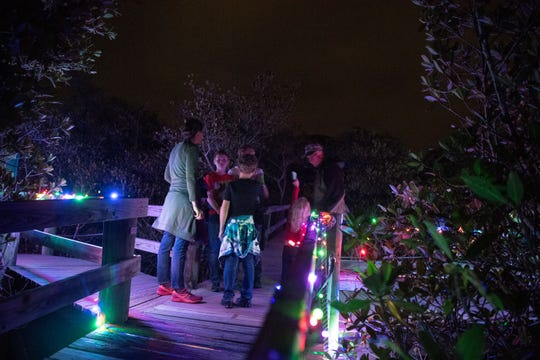 The WinterGreen Night Lights at the Environmental Learning Center is 5-8 p.m. Friday and Saturday at 255 Live Oak Drive, Vero Beach.