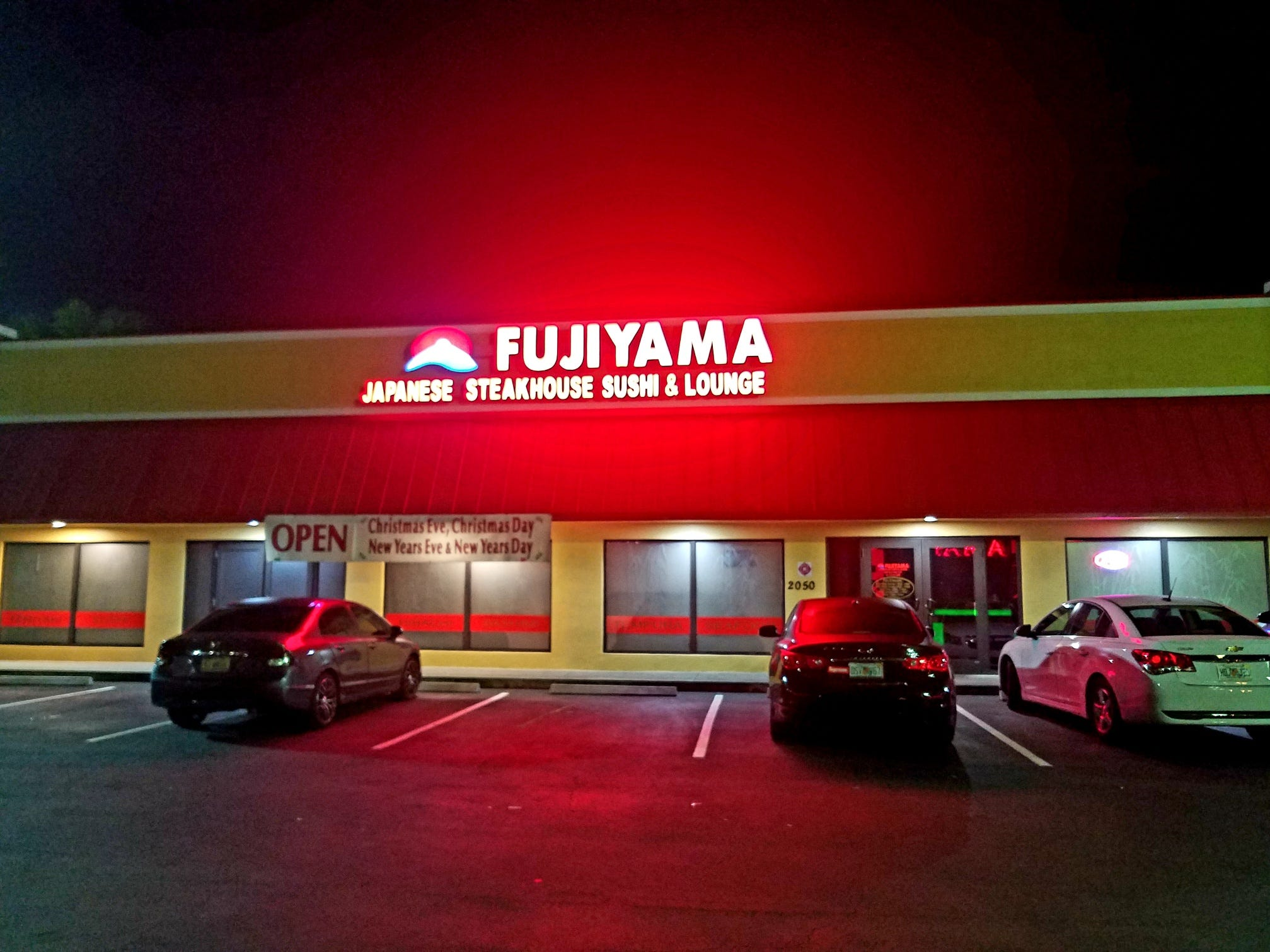 Fujiyama Japanese Steakhouse is at 2050 S.E. Federal Highway in Stuart.