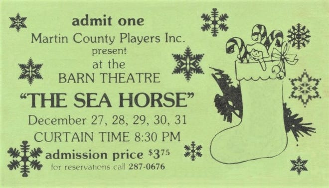 Ticket to the Barn performance of 'The Sea Horse'.