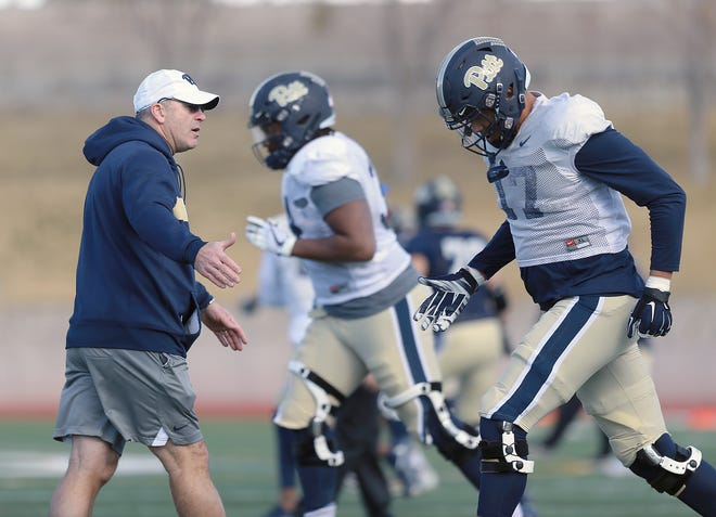 The University of Pittsburgh practiced Thursday in preparation for their Hyundai Sun Bowl appearance against Stanford.
