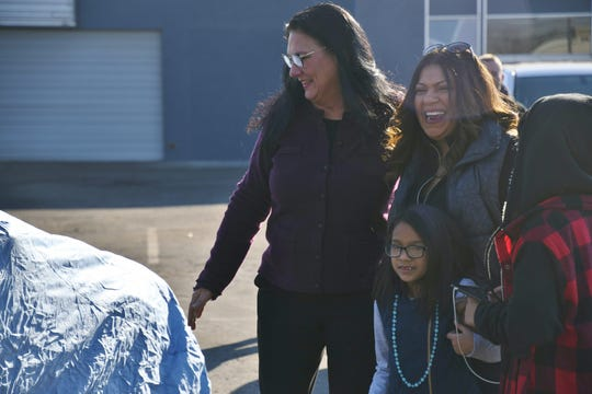 Vera Castillo was gifted a new car by Central Valley Collision Repair