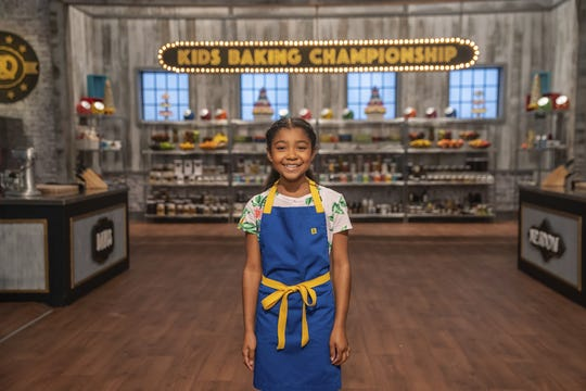"""Nyah Rosado, an eighth grader at Albert Leonard Middle School, is a competitor on Season 6 of Food Network's """"Kids Baking Championship."""""""
