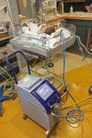 Neonatal unit at Christiana Hospital.