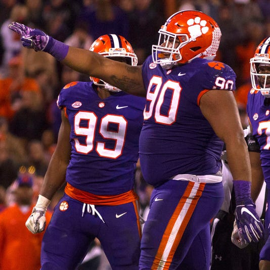 f004b2251 Dexter Lawrence  Clemson s standout DT will miss the Cotton Bowl