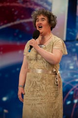 """Susan Boyle stunned judges with her pitch-perfect """"Britain's Got Talent"""" audition in 2009."""