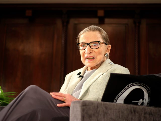 Ruth Bader Ginsburg The Emotional Reason Why She Cameos In Her Biopic