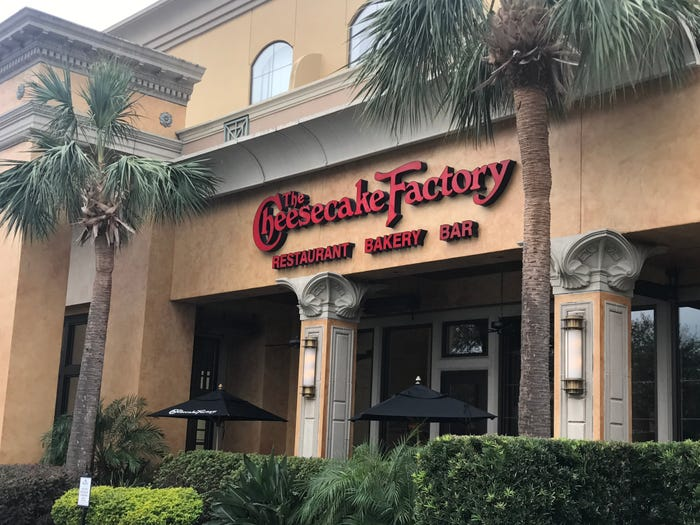 Cheesecake Factory furloughs 41,000 hourly workers because of coronavirus