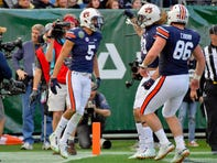 Auburn sets bowl record for points in first half in Music City Bowl rout of Purdue
