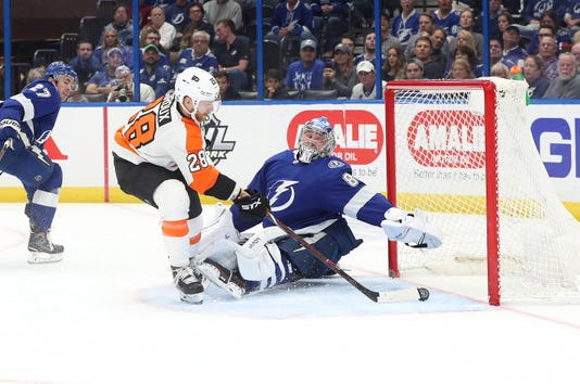 Usp Nhl Philadelphia Flyers At Tampa Bay Lightnin S Hkn Tbl Phi Usa Fl