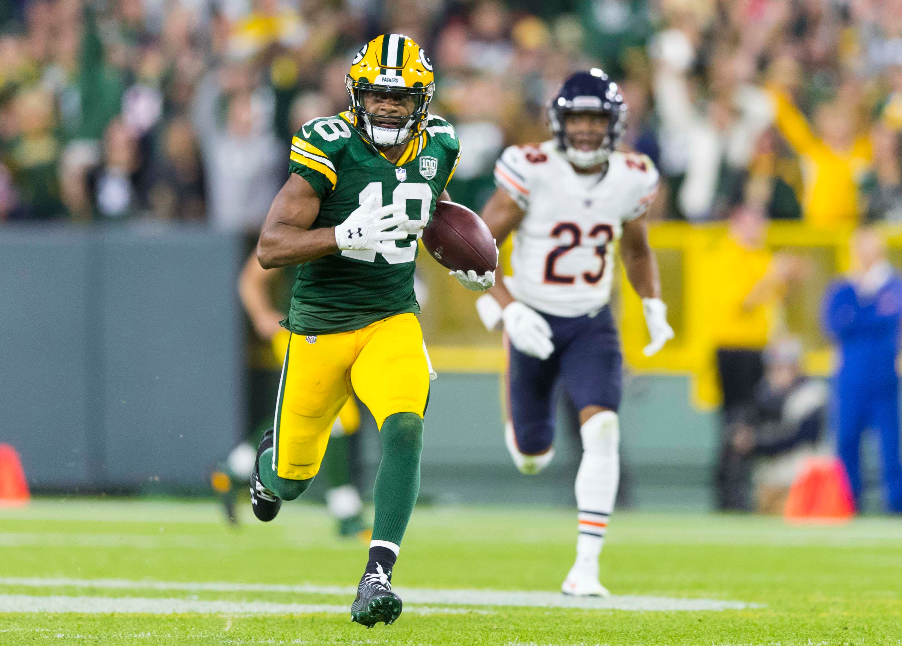Packers WR Randall Cobb recounts 'scary' memory loss after staying on field following concussion