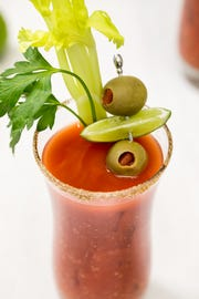 A classic Bloody Mary.