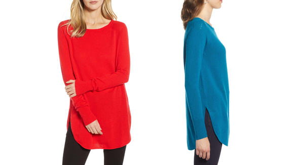 Best things to buy at Nordstrom: Cashmere Tunic