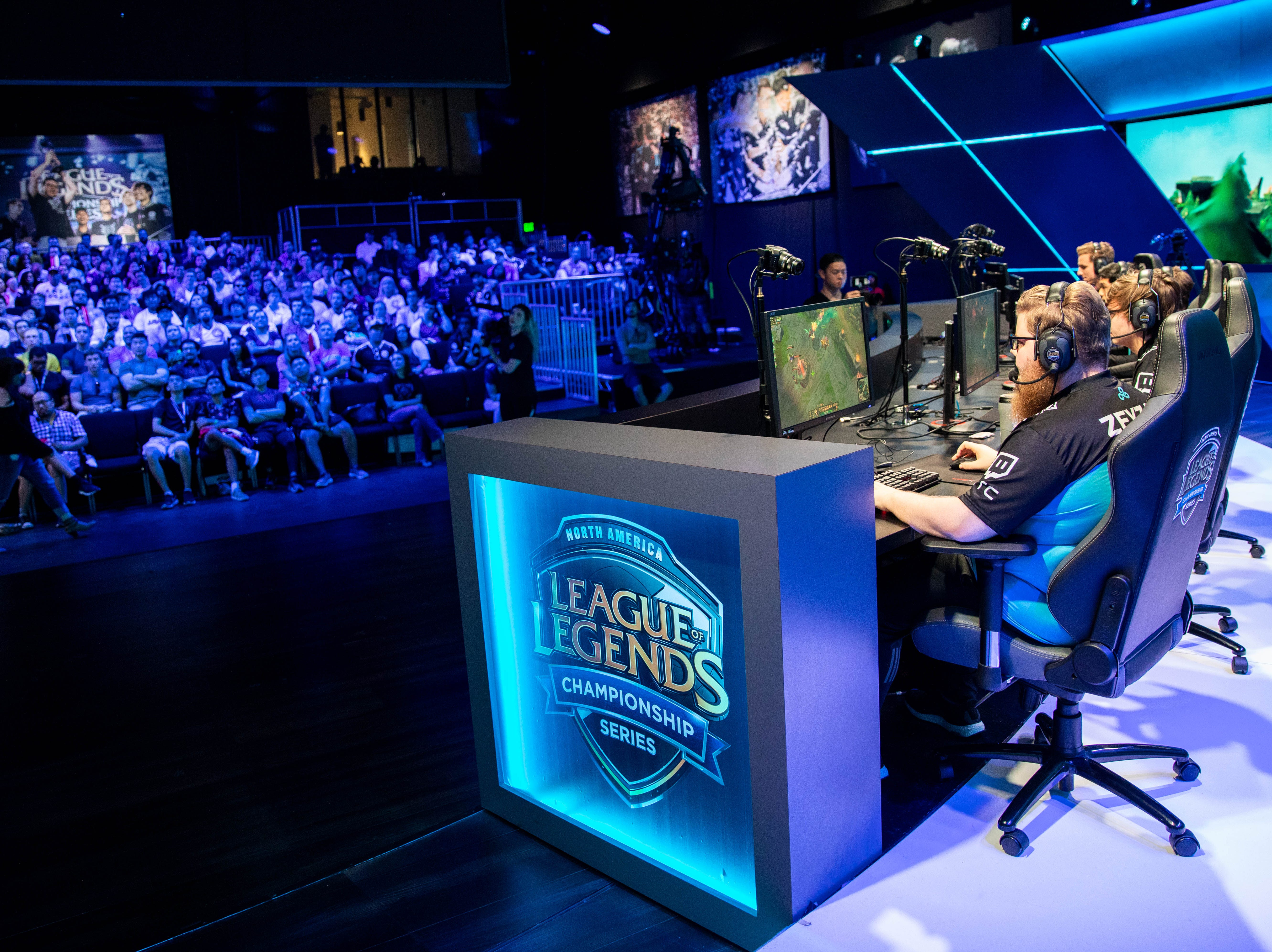 A six-figure career playing video games? Welcome to the world of professional esports