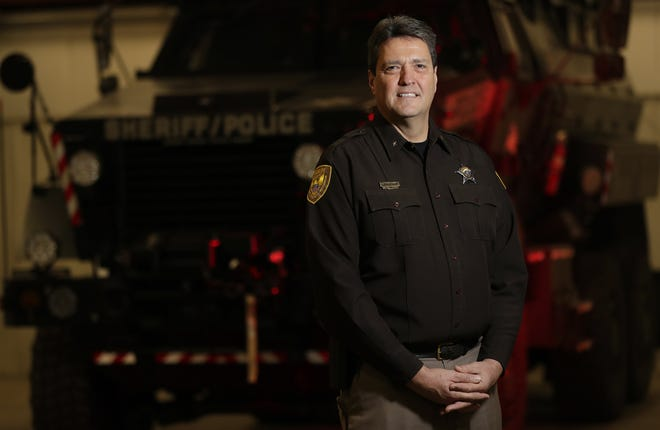 Outagamie County Sheriff Brad Gehring will retire Jan. 7. He credited the formation of partnerships within the community as helping to address problems like drug abuse and sex trafficking.