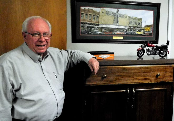 Ray Mayo is retiring after 28 years as Mitchell County judge.
