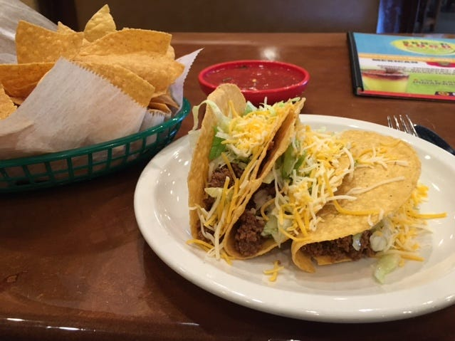 OPEN: Senor Loco on the Eau Gallie Causeway. Here is the Taco Tuesday special.