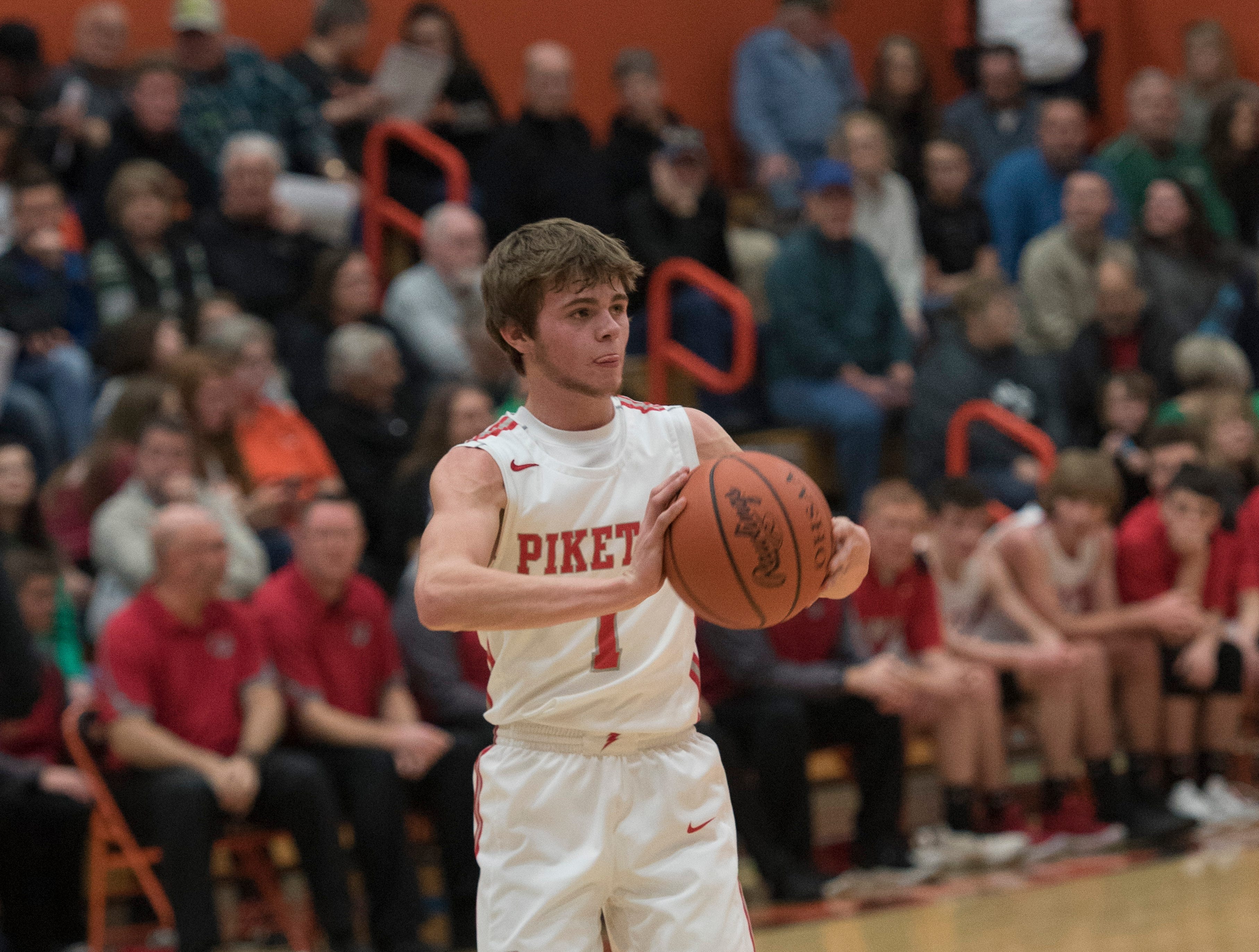 Western defeated Piketon 45-41 Friday night in Waverly, Ohio, during the first night of the Pike County Holiday Classic.