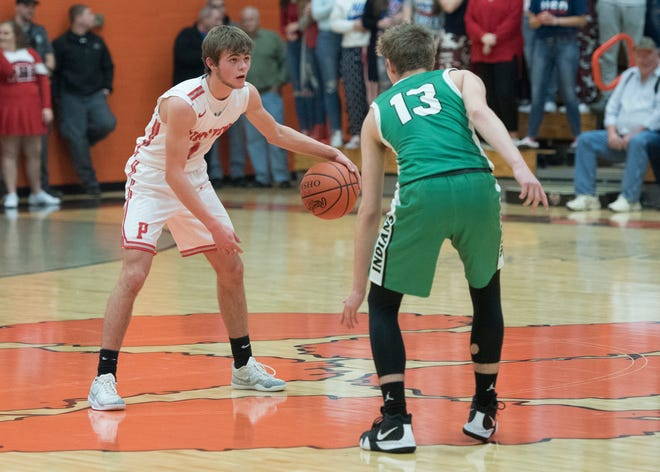 Piketon defeated Westfall on Friday 42-31 as Alex Blanton scored 11 points for the Redstreaks.