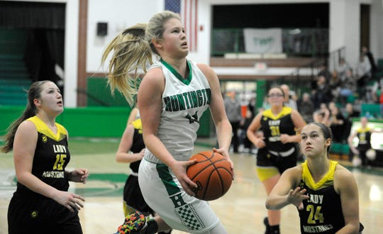 Huntington's Allison Basye was voted onto the All-Gazette first team after being one of the top players in the area all season.