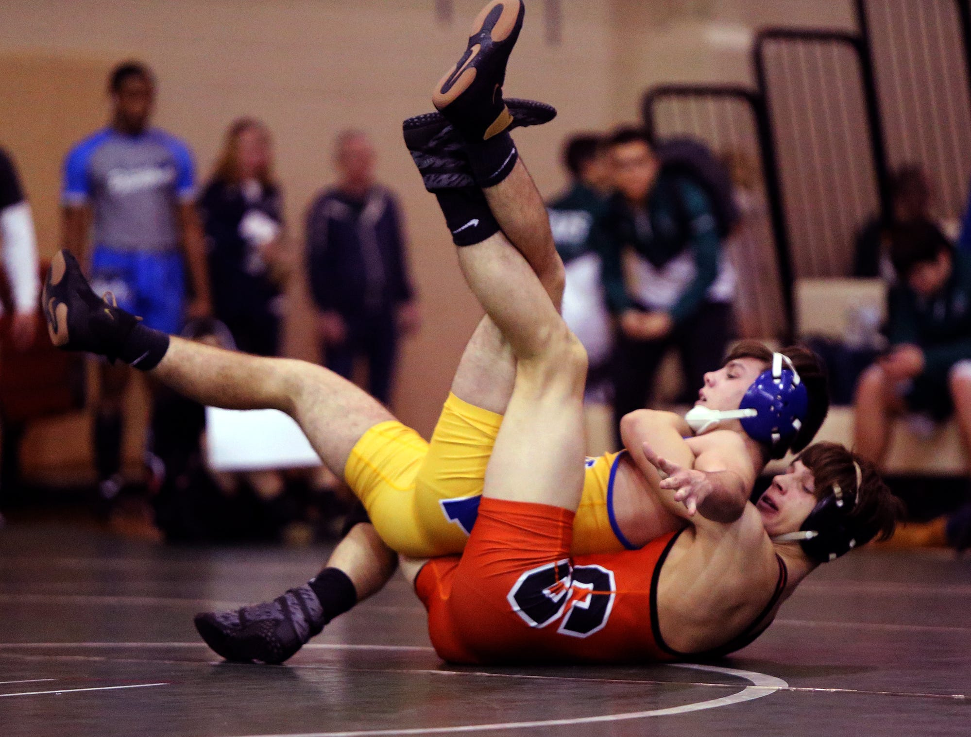 Bear Invitational wrestling tournament. Friday December 28, 2018 photo by Ed Pagliarini
