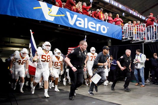 Ncaa Football Alamo Bowl Iowa State Vs Washington State