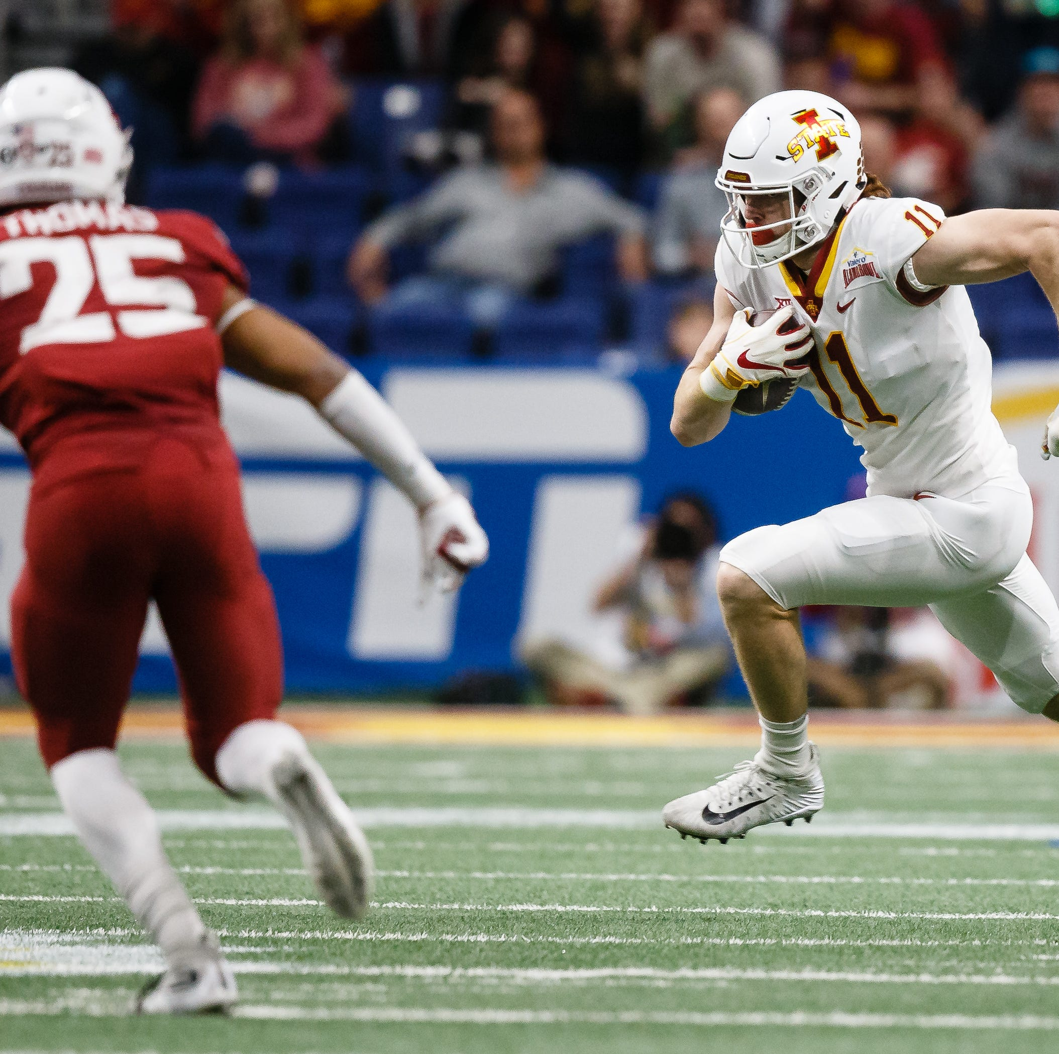 Peterson: Could Iowa State play three tight ends at one time? Don't bet against it