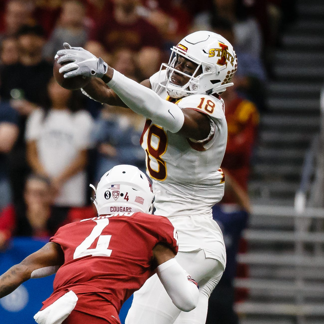 Iowa State's Hakeem Butler says his NFL Draft decision will have to wait a bit