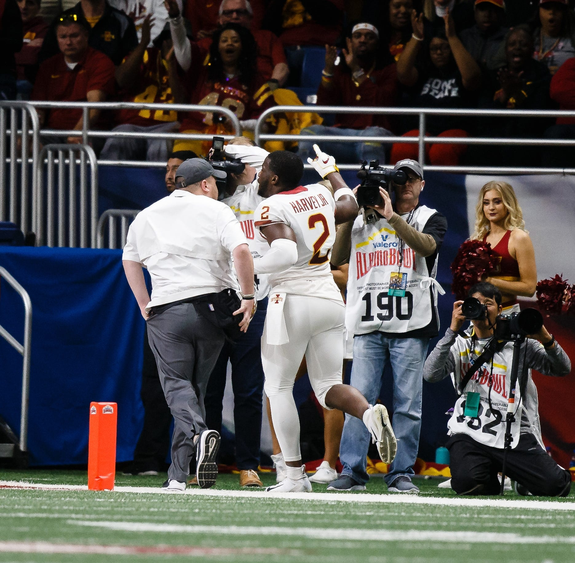 Iowa State's Harvey gets another shot to shine following Alamo Bowl ejection