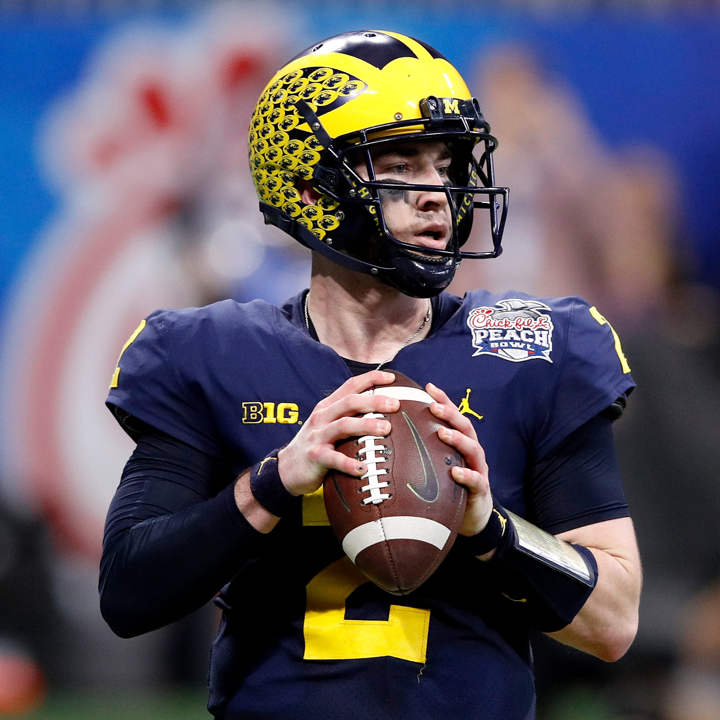 Michigan football: Shea Patterson the No. 1 QB, but that's not set in stone