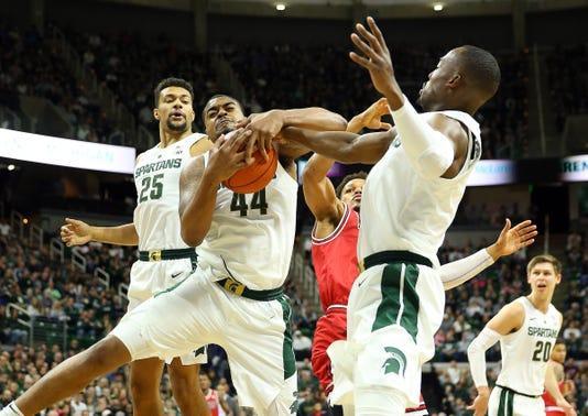 michigan state basketball s defense stops northern illinois